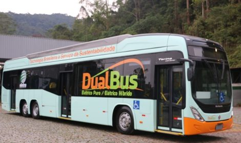 Eletra lança seu novo ônibus elétrico híbrido Dual Bus 15m