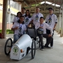 Com patrocínio Eletra, alunos da equipe EletraBuzz saem na frente no projeto e-Kar